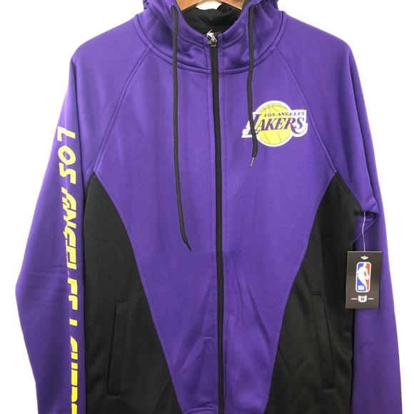 detailed look 90082 fbd6c Women s NBA Purple Lakers Jacket Hoodie Small